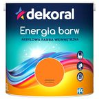 Farba Dekoral Energia barw Oranżada 2.5 l