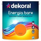 Farba wewnętrzna ENERGIA BARW 2.5 l Oranżada DEKORAL