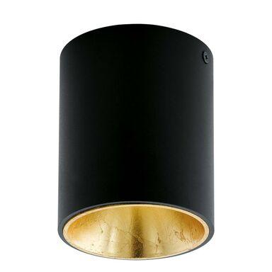 Oprawa stropowa natynkowa POLASSO czarno-złota LED EGLO