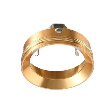 Oprawa stropowa pierścień do oczka MANACOR śr. 6  cm złota LIGHT PRESTIGE