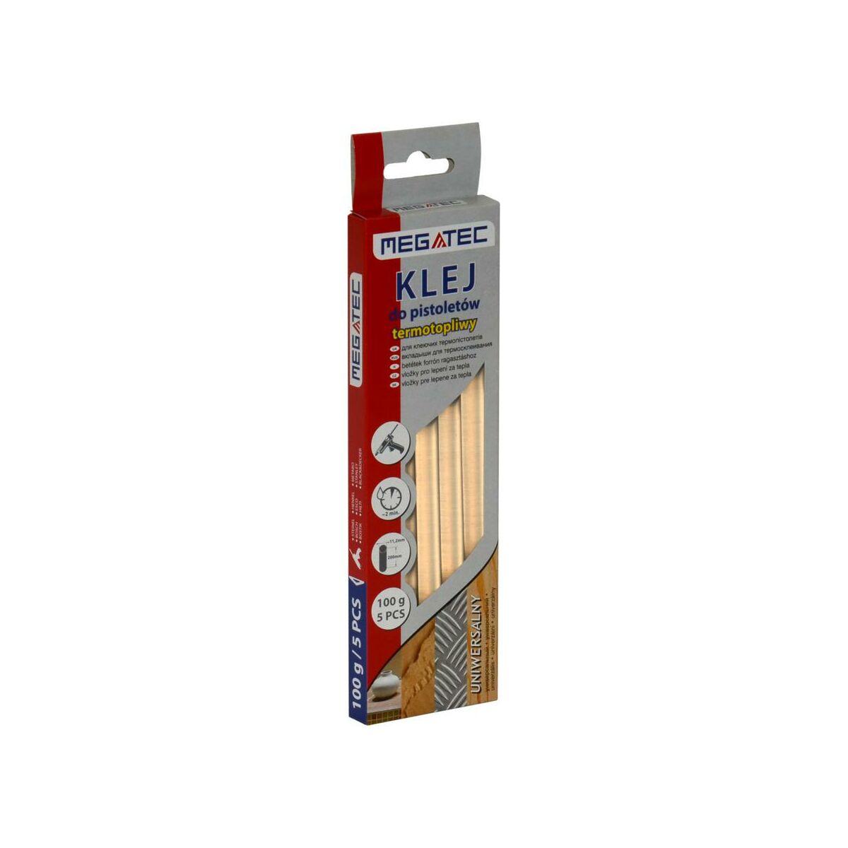 Klej Termotopliwy Uniwersalny 11 5 Mm 200 Mm 5 Szt Termik Wklady Klejowe W Atrakcyjnej Cenie W Sklepach Leroy Merlin