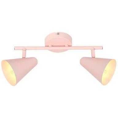 Listwa reflektorowa AMOR jasno różowa E14 CANDELLUX