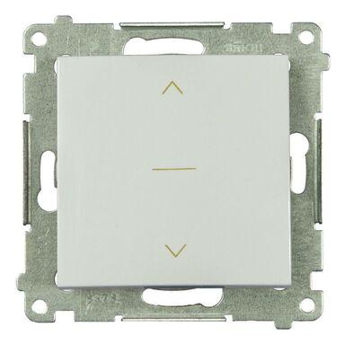 Włącznik żaluzjowy SIMON 54  Biały  SIMON