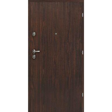 Drzwi wejściowe CALISTA Orzech alpejski 80 Prawe LOXA