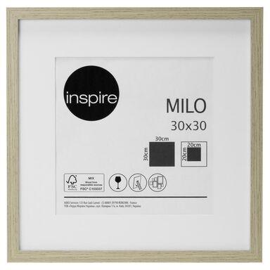 Ramka na zdjęcia Milo 30 x 30 cm dąb MDF Inspire