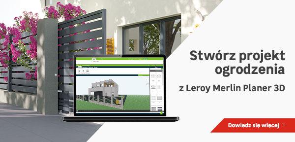 Systemowe Ogrodzenia Metalowe Betonowe I Drewniane Leroy Merlin