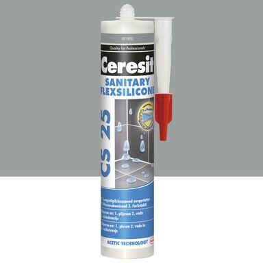 Silikon sanitarny  CS-25 Steel CERESIT