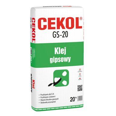 Zaprawa klejowa GIPSOWA GS-20 20 kg CEKOL
