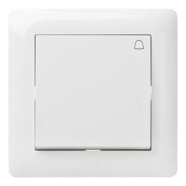 Przycisk dzwonek ASTORIA  biały  ELEKTRO-PLAST