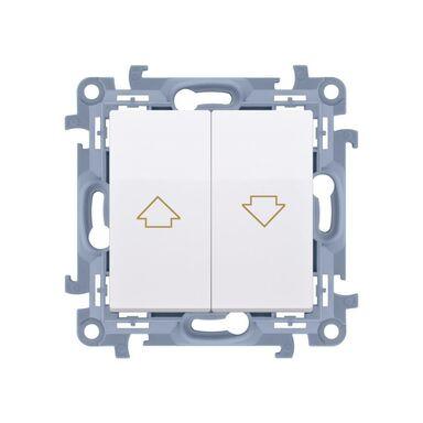Włącznik żaluzjowy SIMON 10  biały  SIMON
