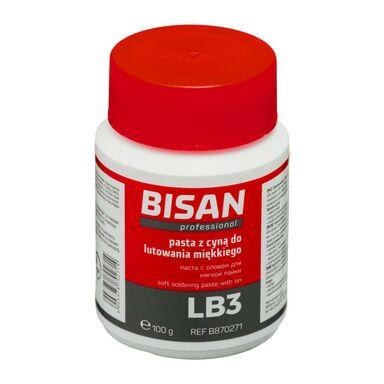 Pasta do lutowania miękkiego LB3 100G (PUSZKA) BISAN