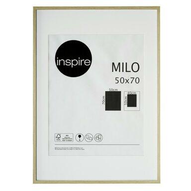 Ramka na zdjęcia Milo 50 x 70 cm dąb MDF Inspire