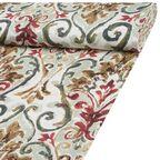 Tkanina bawełniana na mb KILAM czerwona szer. 140 cm