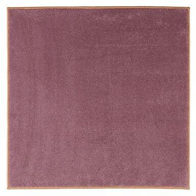 Dywan kwadratowy TATI różowy 100 x 100 cm