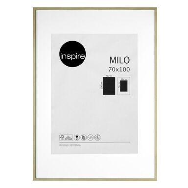 Ramka na zdjęcia Milo 70 x 100 cm dąb MDF Inspire