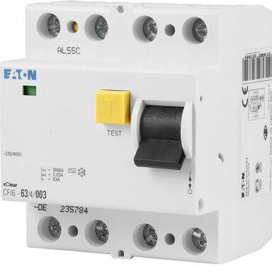Wyłącznik różnicowo-prądowy AC 63 A EATON