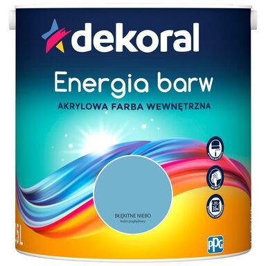 Farba wewnętrzna ENERGIA BARW 2.5 l Błękitne Niebo DEKORAL