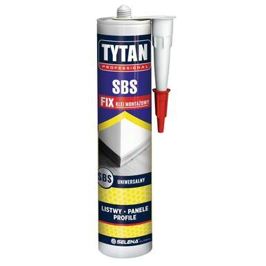 Klej montażowy SBS 290 ml listwy, panele, profile Tytan