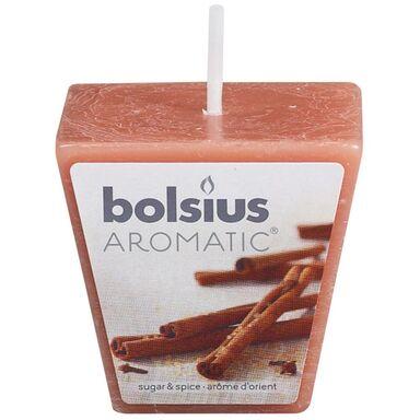 Świeca zapachowa AROMATIC  zapach: Cynamonowy  BOLSIUS