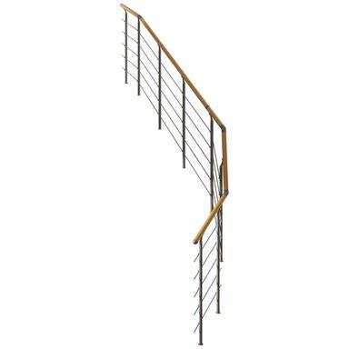 Balustrada do schodów zabiegowych FRANKFURT Nierdzewna DOLLE