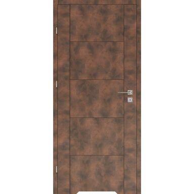 Skrzydło drzwiowe z podcięciem wentylacyjnym DUAL Miedź 70 Lewe VOSTER