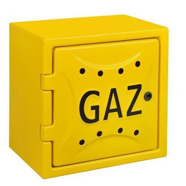 Szafka gazowa żółta BEZ PLECÓW LAMSAN