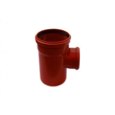 Trójnik kanalizacji zewnętrznej 160 x 110 mm/90° POLIPLAST