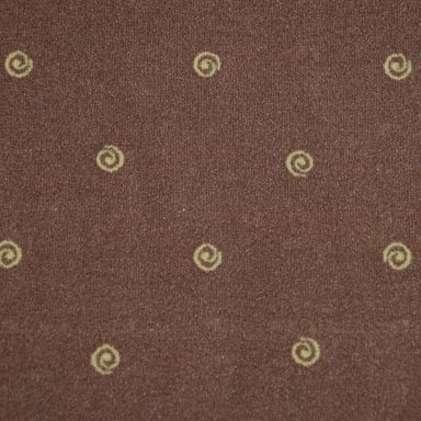 Wykładzina dywanowa CHIC brązowa 4 m