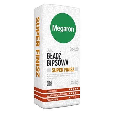 Gładź gipsowa SUPER FINISZ GT-120 20 kg MEGARON