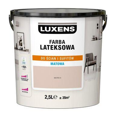 Farba wewnętrzna LATEKSOWA 2.5 l Bistro 6 LUXENS