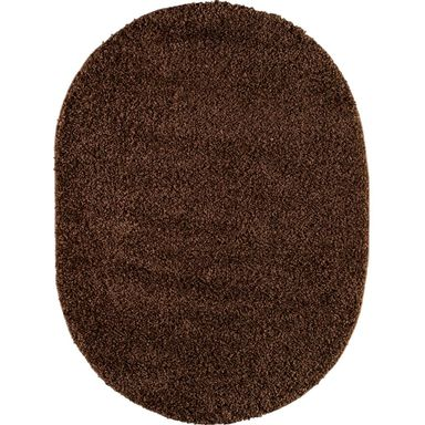 Dywan LUMINI brązowy 120 x 160 cm wys. runa 40 mm INSPIRE