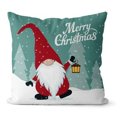 Poduszka świąteczna Dwarf świecąca LED 45 x 45 cm