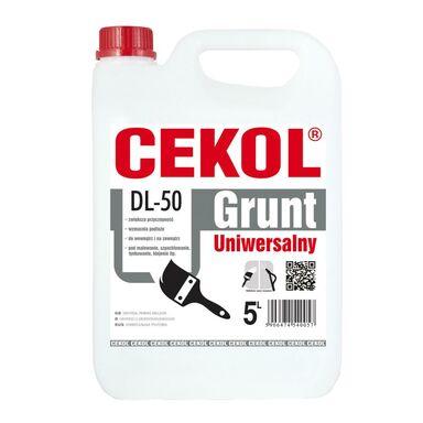 Uniwersalny grunt DL-50 5 l CEKOL