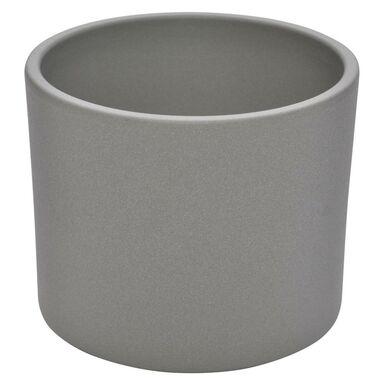 OSŁONKA ceramiczna 28 cm szara WALEC CERAMIK