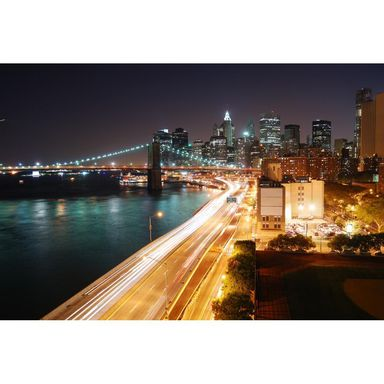 Fototapeta NYC LIGHTS 254 x 368 cm