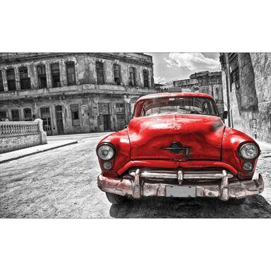 Fototapeta RED TAXI 70.5 x 104 cm