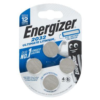 Bateria LITOWA CR2032 ULTIMATE LITH 4 SZT. ENERGIZER