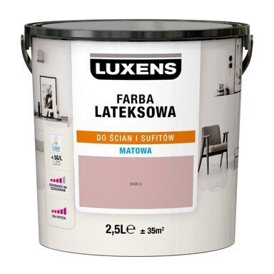 Farba wewnętrzna LATEKSOWA 2.5 l Kiss 5 LUXENS