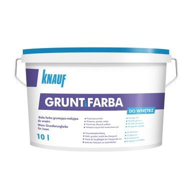 Farba gruntująca GRUNT I FARBA 10 l KNAUF