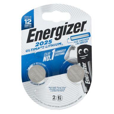 Bateria LITOWA CR2025 ULTIMATE LITH 2 SZT. ENERGIZER