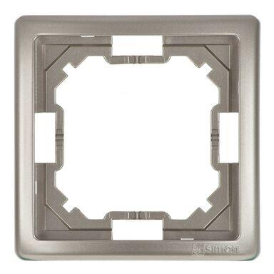 Ramka pojedyncza SIMON BASIC  Srebrny  KONTAKT SIMON