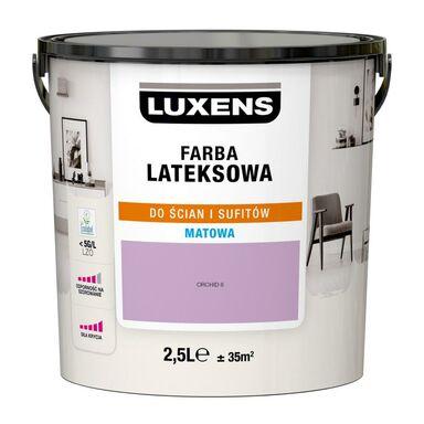 Farba wewnętrzna LATEKSOWA 2.5 l Orchid 6 LUXENS