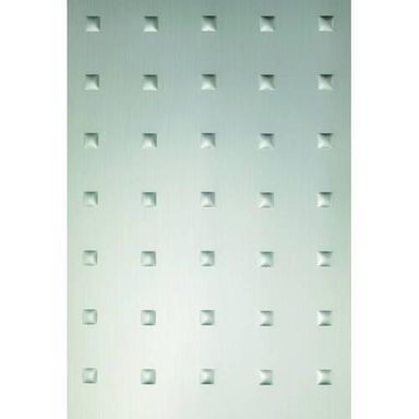 Panel dekoracyjny metalizowany TŁOCZONE KWADRATY GUTTA