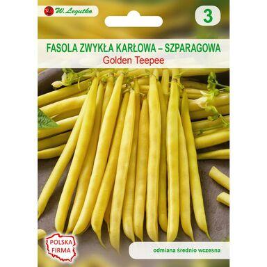 Nasiona warzyw GOLDEN TEEPEE Fasola zwykła karłowa W. LEGUTKO