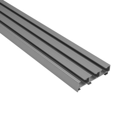 Szyna panelowa 3-torowa ATLANTA 160 cm aluminiowa GARDINIA