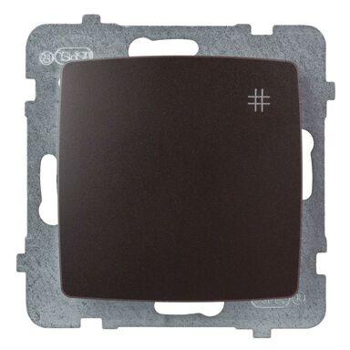 Włącznik krzyżowy KARO  Brązowy  OSPEL
