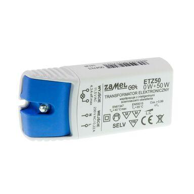 Transformator elektroniczny ETZ50 0-50 W ZAMEL