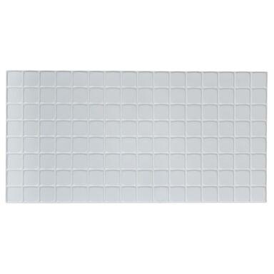 Panel ścienny PCV Kratka biała