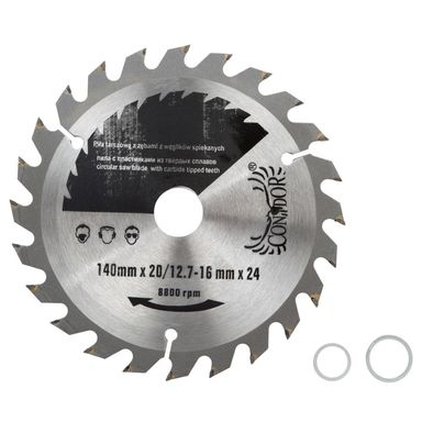 Tarcza do pilarki tarczowej CON-TCT-14X24  140 mm zęby: 24 szt. CONDOR