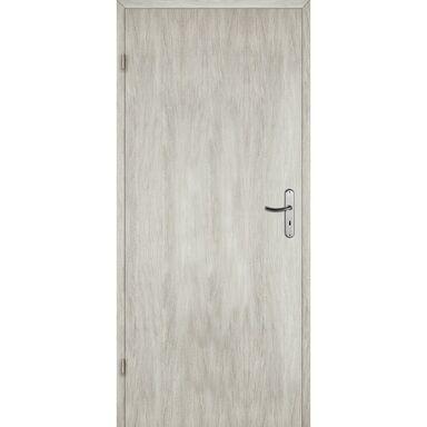 Skrzydło drzwiowe pełne Alba Dąb silver 90 Lewe Artens